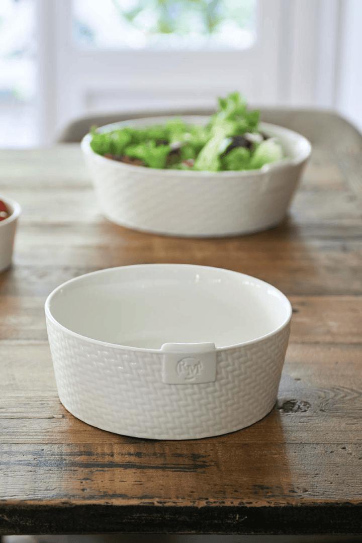 Pure Rattan Ceramic Bowl M