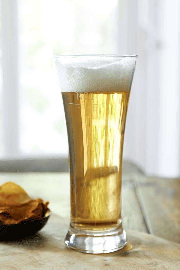 No.1 Beer Brewer Beer Glass