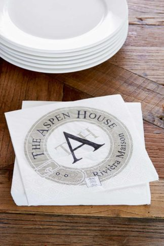 THE ASPEN HOUSE PAPER NAPKIN
