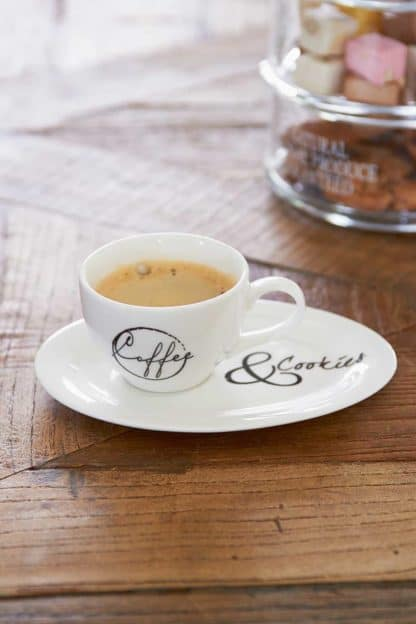 Coffee & Cookies Cup and saucer S
