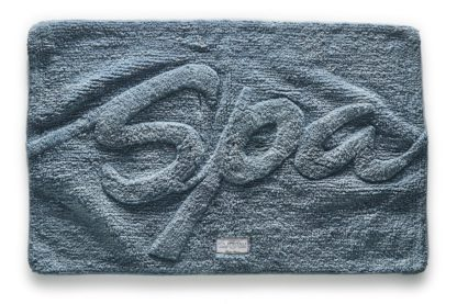 Bath Mat 'Spa' steel