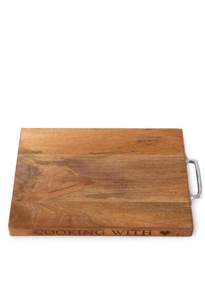 Cooking With Love Cutting Board