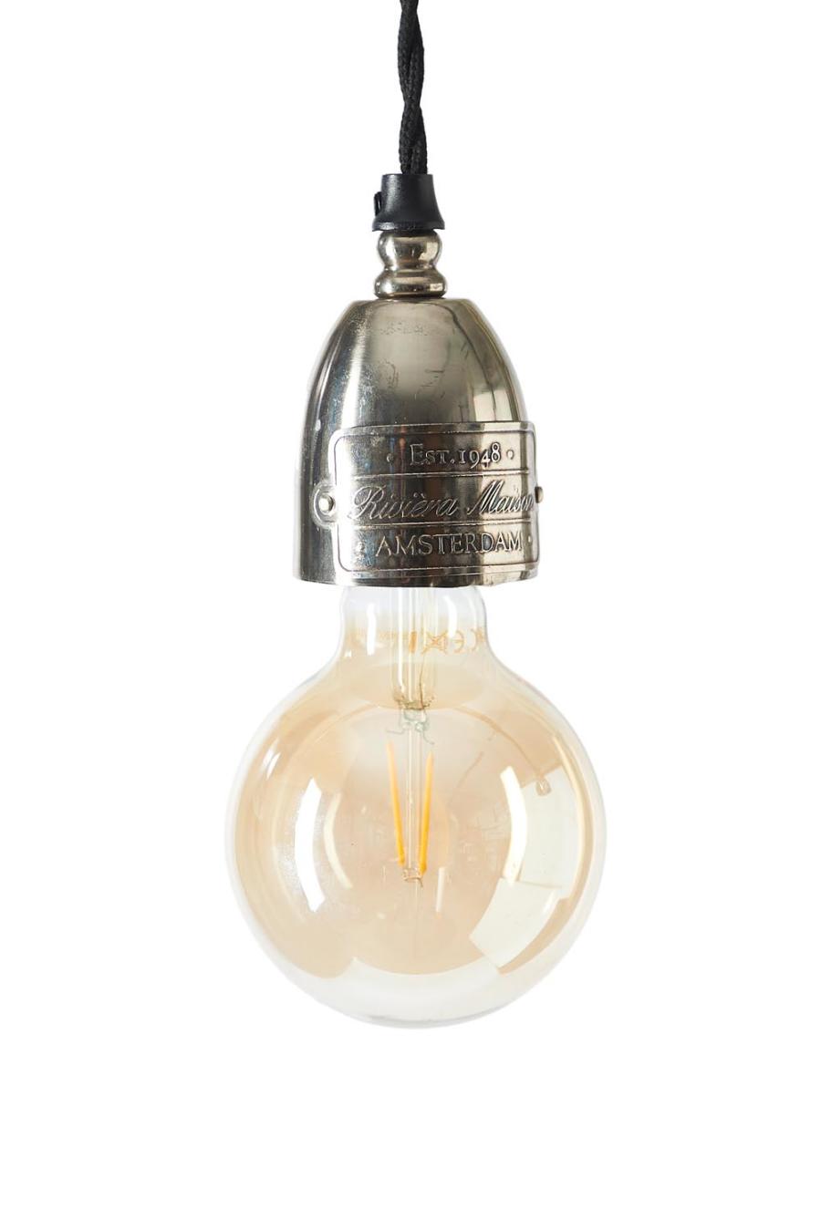 Williamsburg Hanging Lamp silver