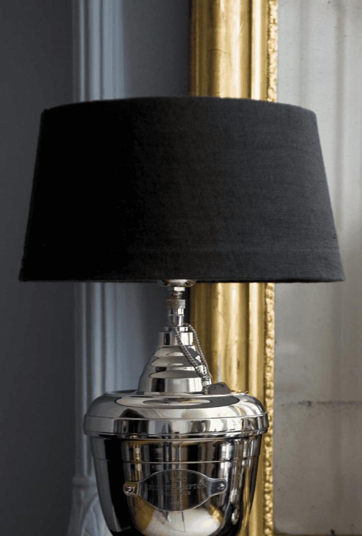CLASSIC LAMPSHADE BLACK 35X45