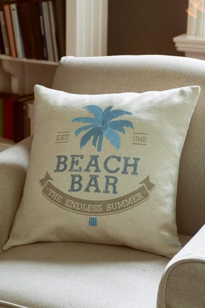 Formentera Beach Pillow Cover 50x50