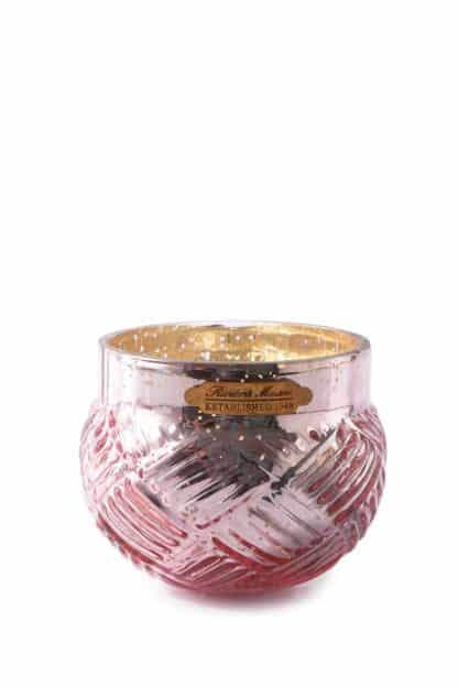 Whimsical Weave Votive pink