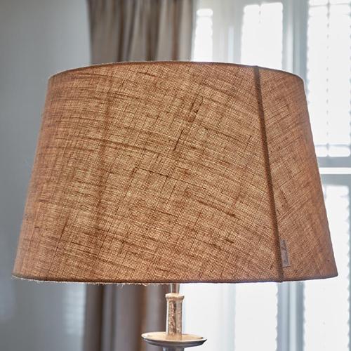 Fabulous Lampshade Round flax 40x50