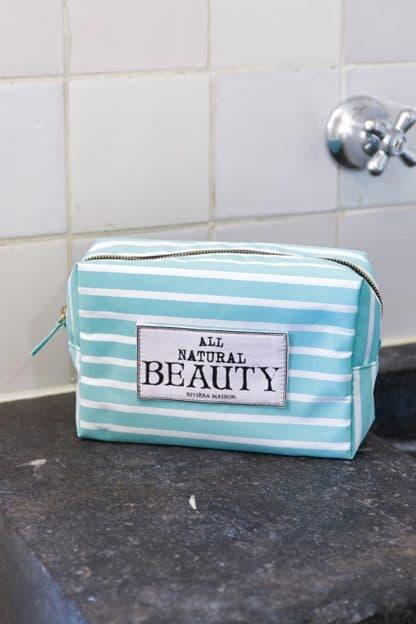 All Natural Beauty Cosm Bag mint