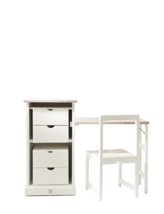 Long Key Folding Desk and Chair