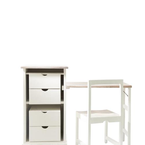 Long Key Folding Desk and Chair