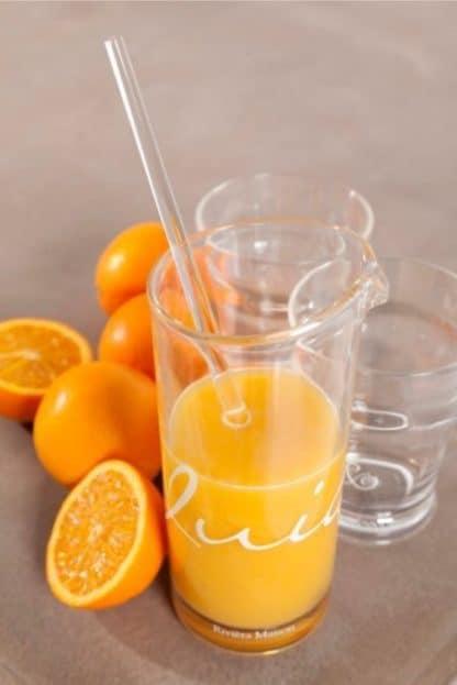 Italian Juice Decanter w Stirrer