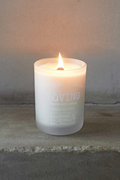 Scented Candle Loving Vanilla