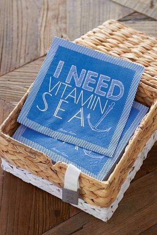 I Need Vitamin Sea Paper Napkin