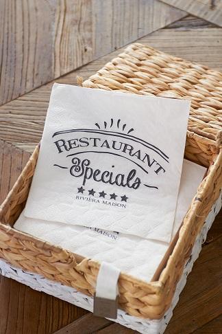 Restaurant Specials Paper Napkin