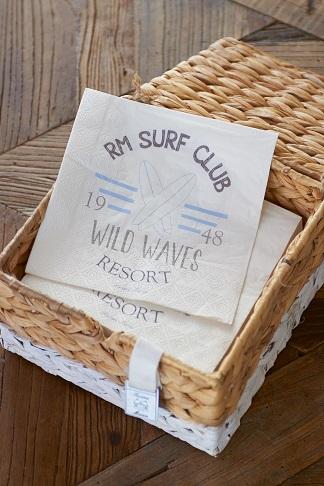 RM Surf Club Paper Napkin