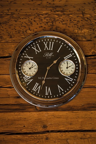 My Favourite Cities Wall Clock