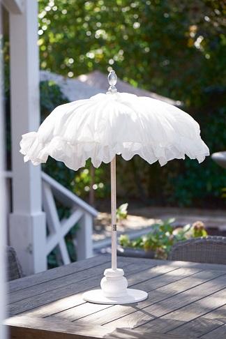 Bahia Beach Table Umbrella white