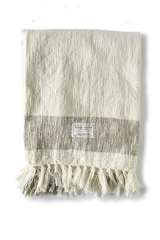 Summer Shore Throw flax 170x130