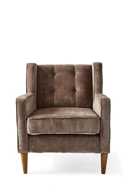 Repulse Bay Armchair Velvet Dolphin