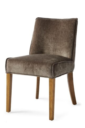 Bridge Lane Dining Chair Velv Brown