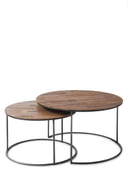 The Market Coffee Table 70dia S/2