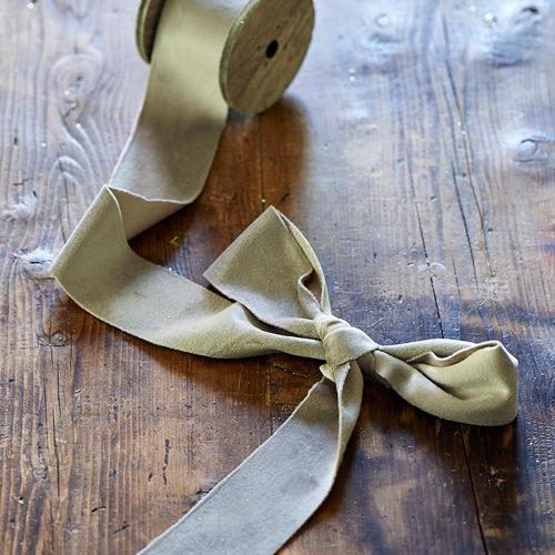 Fabulous Velvet Ribbon dove grey