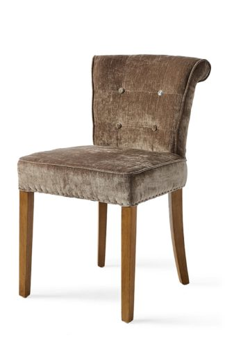 Meadow Dining Chair Velvet Brown