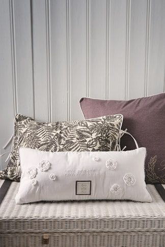 BORGHESE FLOWER LACE PILLOW 65X30