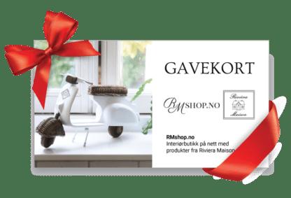 Gavekort Riviera Maison