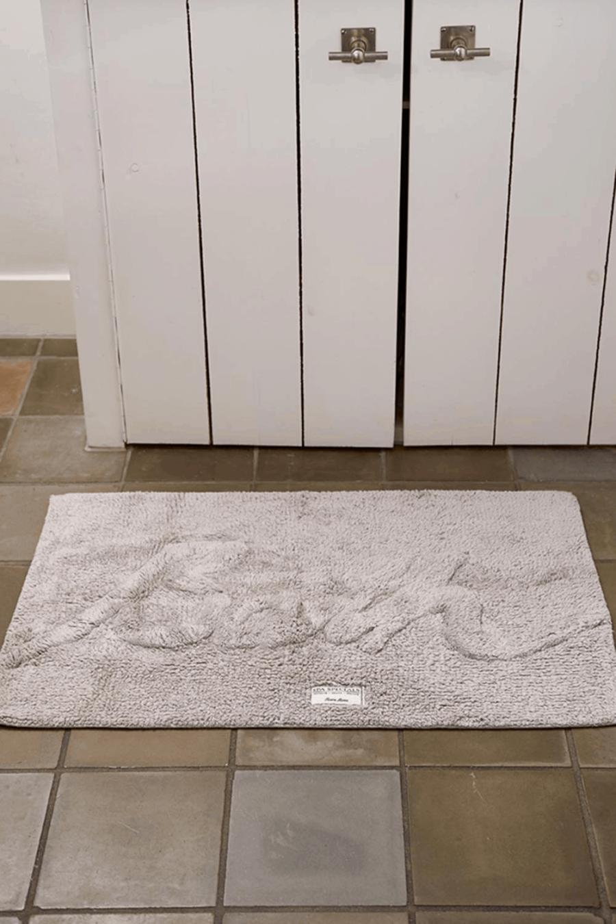 Bath Mat 'Bath' stone
