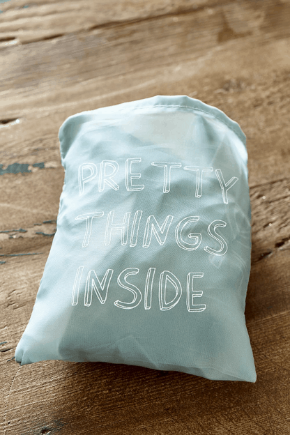 Pretty Things Inside Foldable Bag