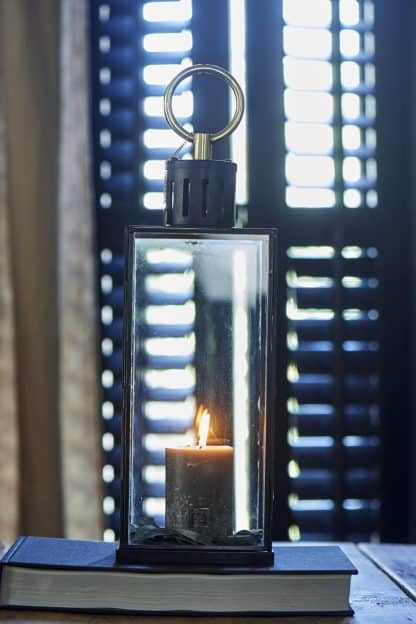 French Glass Lantern M