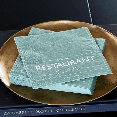 Paper Napkin RM Restaurant